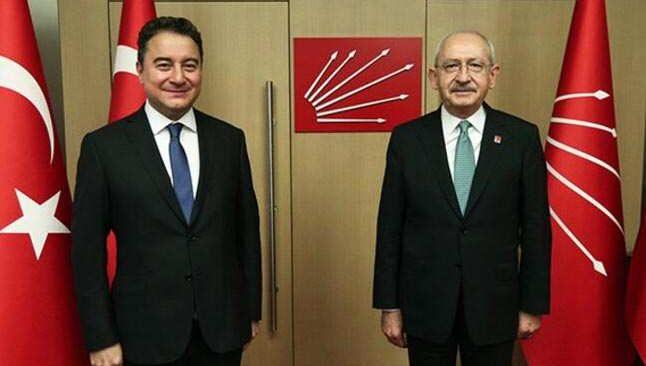 Kılıçdaroğlu ve Babacan, güçlendirilmiş parlamenter sistem gündemini görüştü