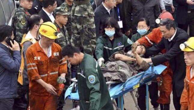Çin'de altın madenindeki patlamada! 22 madenci mahsur kaldı
