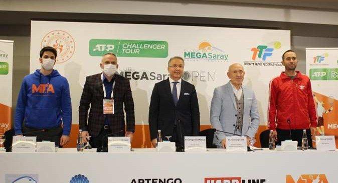 Antalya'da Club Megasaray Açık Tenis Turnuvası heyecanı