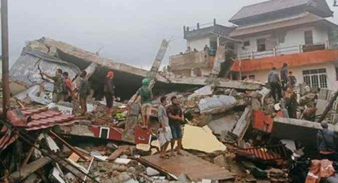 Depremin ardından ölü sayısı 35'e yükseldi