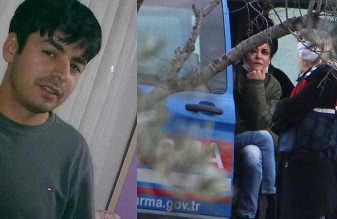 Genç kadın kelepçe takıp şiddet uygulayan kocasını öldürdü