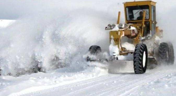 63 köy yolu ulaşıma kapandı