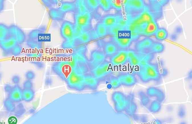 Kısıtlamalar etkisini gösterdi! Antalya'nın risk haritası yeşile döndü