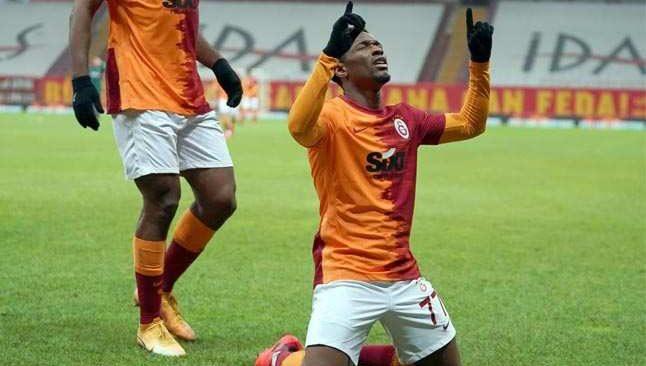 Jesse Sekidika, Galatasaray'da ilk golünü attı