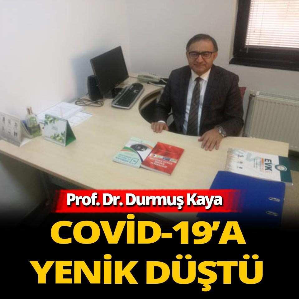Prof. Dr. Durmuş Kaya koronavirüs sebebiyle yaşamını yitirdi