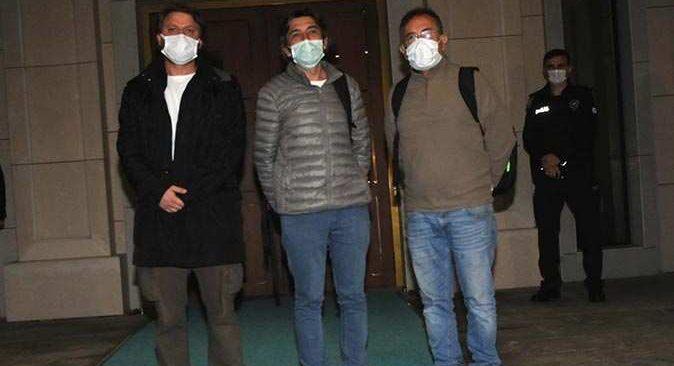 Korsanların saldırısından kurtulan 3 denizci İstanbul'a geldi