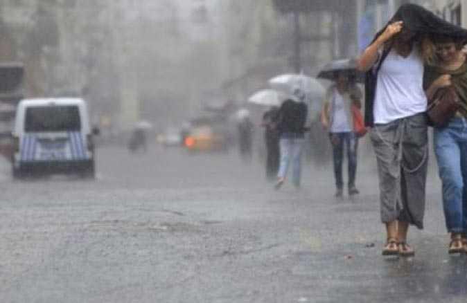 Meteoroloji'den flaş uyarı! 4 ile kuvvetli yağış geliyor