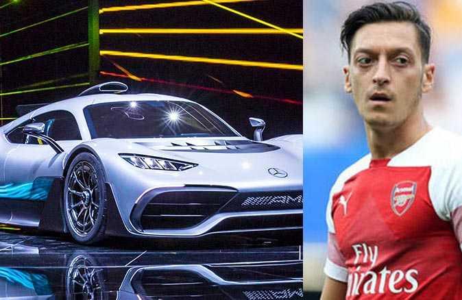 Mesut Özil'e 27 milyon TL'lik yeni oyuncak