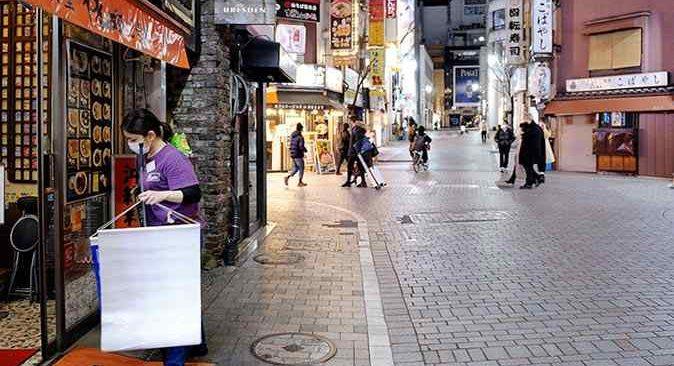 Japonya'da koronavirüs sebebiyle toplam 11 eyalette OHAL ilan edildi