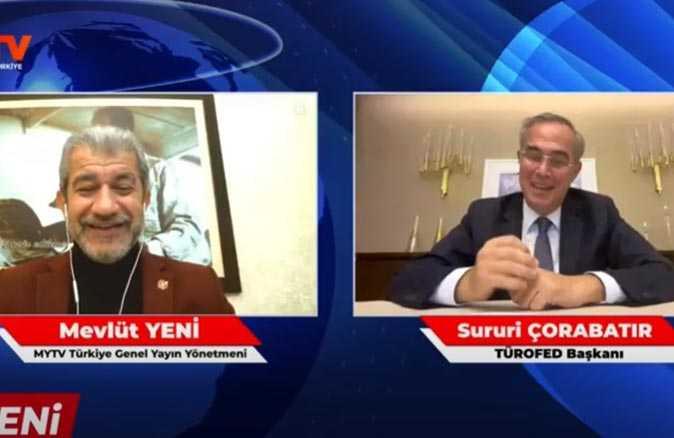 TÜROFED Başkanı Sururi Çorabatır vaka artışı iddialarına canlı yayında bakın nasıl cevap verdi!