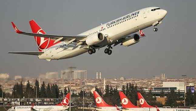 THY, uçuş trafiğiyle 13 Ocak'ta zirveye oturdu