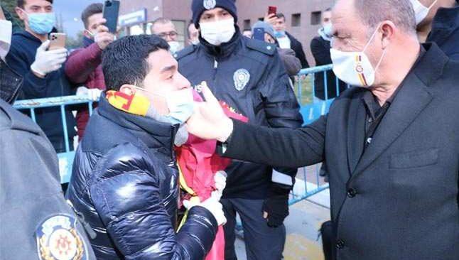 Galatasaray kafilesi Gaziantep'te