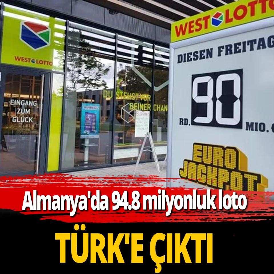 Almanya'da 94,8 milyonluk büyük ikramiye Türk vatandaşına çıktı