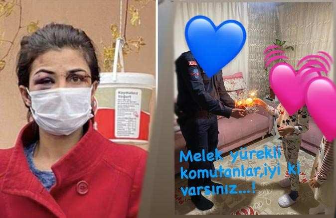 Jandarma cezaevindeki Melek İpek'in kızının doğum gününü kutladı