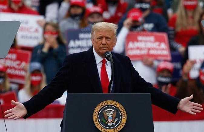 Trump'tan 'Eve dönün' çağrısı
