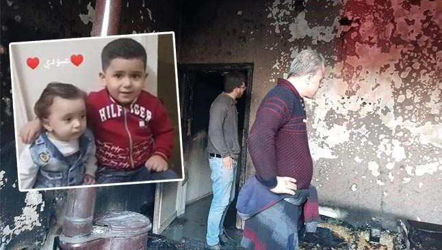 Bu acıya yürek dayanmaz! İki evladı da yangında hayatını kaybetti