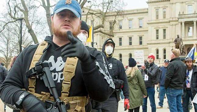 ABD'de gerilim tırmanıyor! Trump yanlısı silahlı gruplar toplanmaya başladı