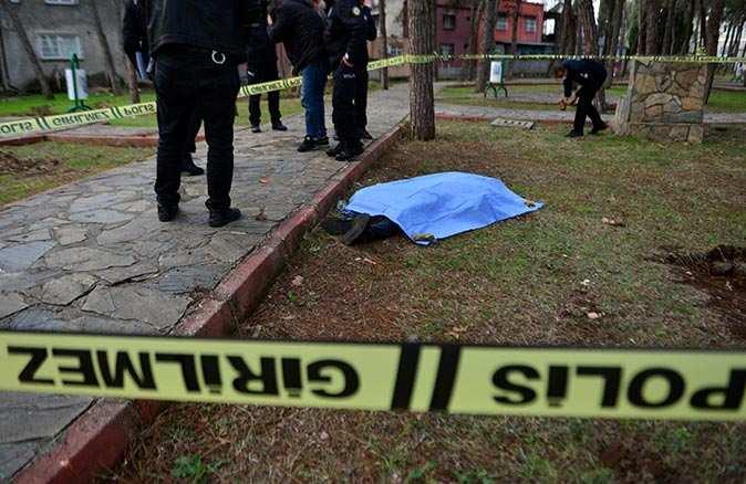 Parktaki korkunç cinayetin sebebi belli oldu!