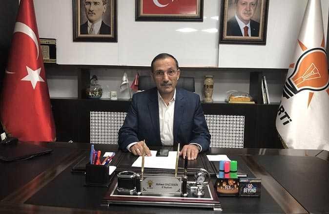 CHP İl Başkanı Binzet'in açıklamalarına Başkan Dağtekin'den tepki