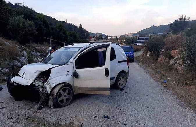 Alanya'da araç takla attı! Sürücü hayatını kaybetti