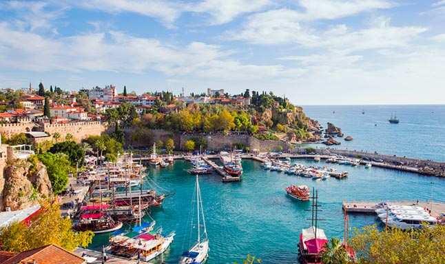 20 Ocak 2021 Çarşamba Antalya hava durumu