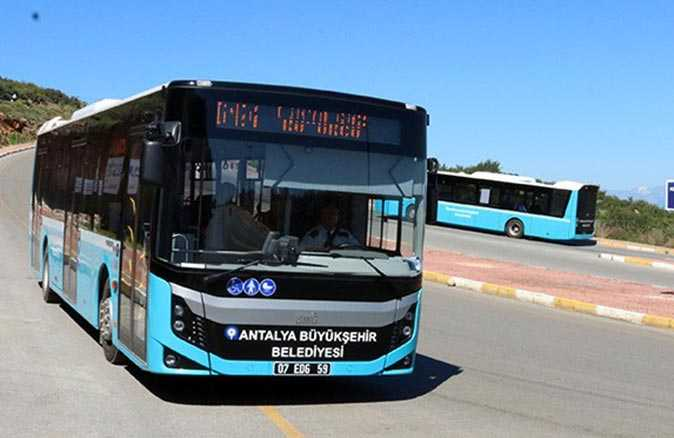 Antalya'da HES kodu olmayan toplu taşımaya binemeyecek