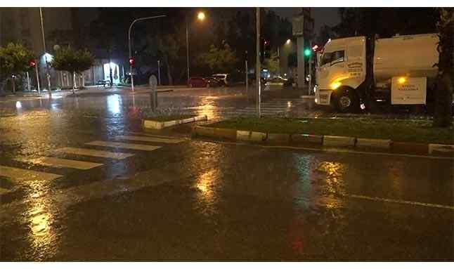 antalya kuvvetli yağış 11
