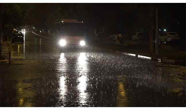 antalya kuvvetli yağış 22