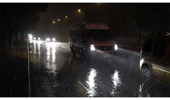 antalya kuvvetli yağış 33