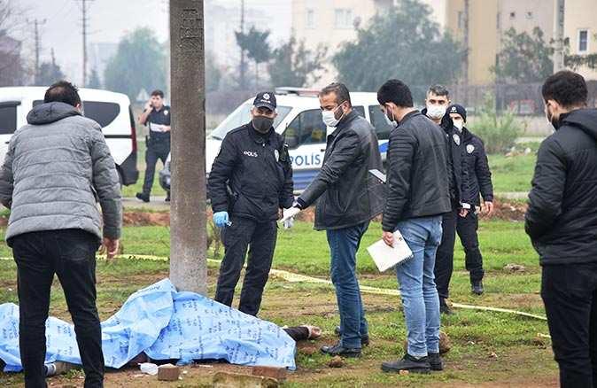 Antalya'da boş arazide ceset bulundu!