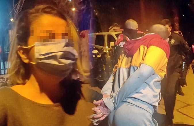 Antalya'da alkollü avukat ve eşi ortalığı karıştırdı