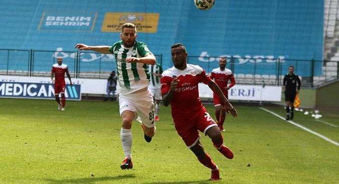 Antalyaspor-Konyaspor karşılaşması beraberlikle bitti