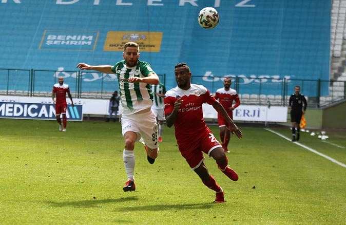 SON DAKİKA! Antalyaspor-Konyaspor karşılaşması beraberlikle bitti