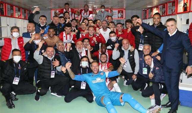 Antalyaspor'un hedef büyüttü