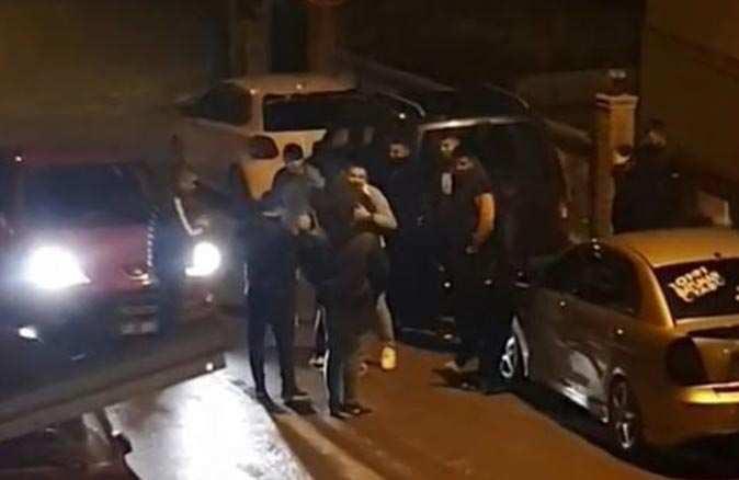 Antalya'da asker uğurlamasında koronavirüs yine kol gezdi