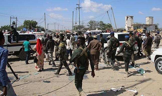 Somali'deki bombalıyı saldırıyı terör örgütü Eş-Şebab üstlendi