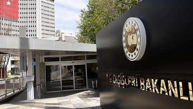Dışişleri Bakanlığından terör saldırısına kınadı