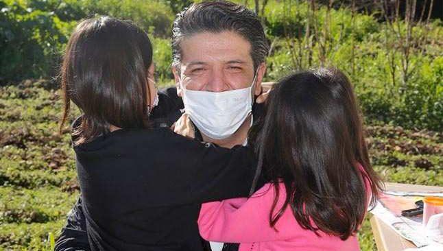 Başkan Turgay Genç'ten cezaevindeki Melek İpek'in kızlarına destek