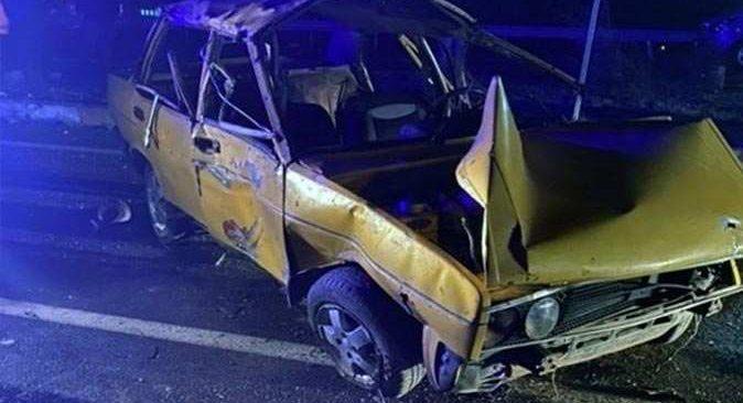 Antalya'da kontrolden çıkan otomobil devrildi: 2 ölü, 4 yaralı