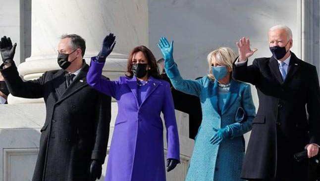 ABD'nin yeni başkanı Biden yemin etti