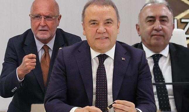 Antalya Büyükşehir Belediye Başkanı Muhittin Böcek'ten sürgün eleştirilerine yanıt