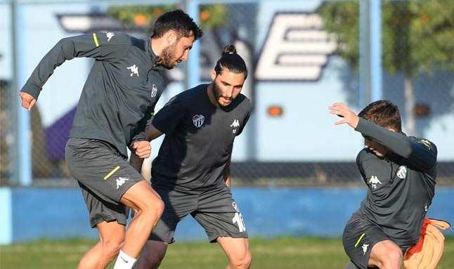 Bursaspor, maçı hazırlıklarını Adana'da tamamladı
