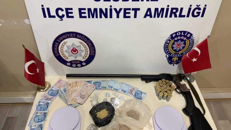 Şırnak'ta uyuşturucu operasyonunda 2 tutuklama