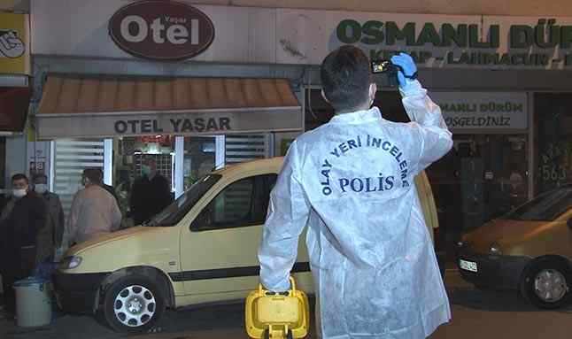 Bayrampaşa'da bir otel odasında ip ile boğularak öldürmüş kadın cesedi bulundu
