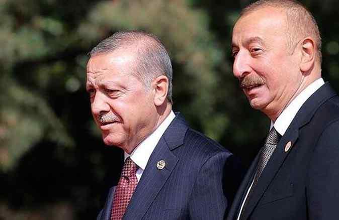 Cumhurbaşkanı Erdoğan, İlham Aliyev ile görüştü
