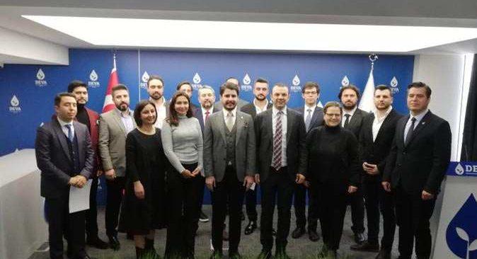 Alanya DEVA Partisi İlçe Başkanlığına Ahmet Çakan Atandı