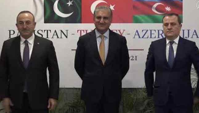Türkiye-Pakistan-Azerbaycan Dışişleri Bakanları Üçlü Toplantısı başladı