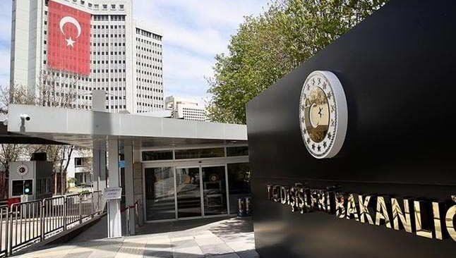 Dışişleri Bakanlığından İspanya'ya başsağlığı mesajı