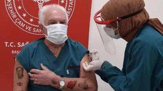 Doğu Perinçek'in dövmeli fotoğrafı sosyal medyayı salladı