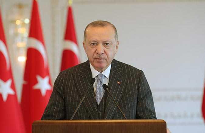Cumhurbaşkanı Erdoğan AB Komisyonu Başkanı Leyen ile görüştü